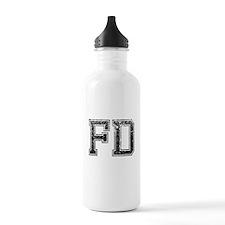 FD, Vintage Water Bottle