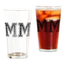 MM, Vintage Drinking Glass