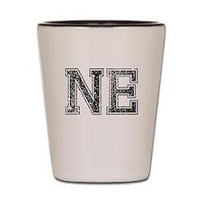 NE, Vintage Shot Glass