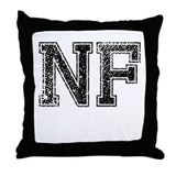 NF, Vintage Throw Pillow
