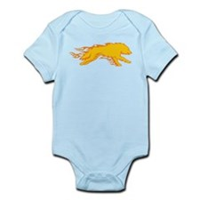 Wolf Flames Infant Bodysuit