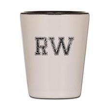 RW, Vintage Shot Glass