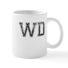WD, Vintage Mug