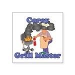 Grill Master Corey Square Sticker 3