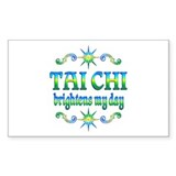 Tai Chi Brightens Decal