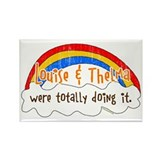 Thelma and louise Rectangular Magnet
