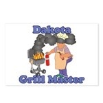 Grill Master Dakota Postcards (Package of 8)
