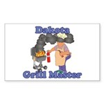 Grill Master Dakota Sticker (Rectangle)