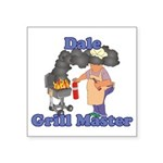 Grill Master Dale Square Sticker 3