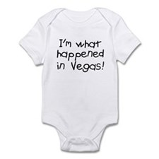 Im what happened in Vegas Infant Bodysuit