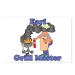 Grill Master Earl Postcards (Package of 8)
