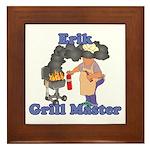 Grill Master Erik Framed Tile