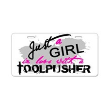 Cute Tool Aluminum License Plate