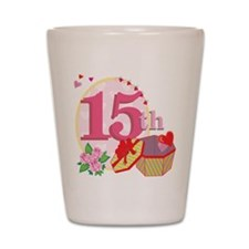 15h Celebration Shot Glass