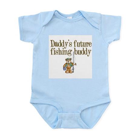 Daddy's Future Fishing Buddy Infant Creeper