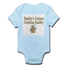 Daddy's Future Fishing Buddy Infant Creeper