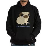Bacon Pug Hoodie