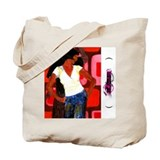 dancing, Tote Bag