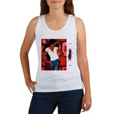 dancing, Women's Tank Top