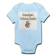 Grandpa's Fishing Buddy Infant Creeper
