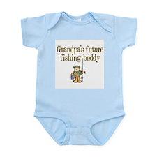 Grandpa's Future Fishing Buddy Infant Creeper