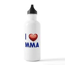I love Mixed Martial Art Water Bottle