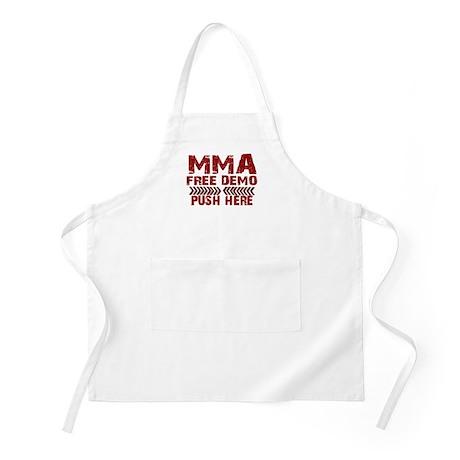 MMA Free demo Apron