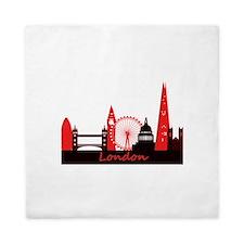 London landmarks tee 3cp.png Queen Duvet