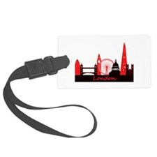 London landmarks tee 3cp.png Luggage Tag