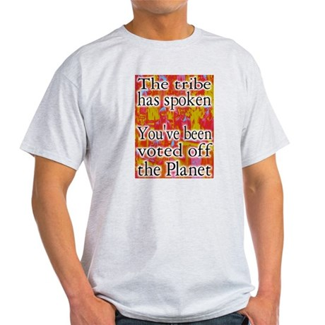 Tribe has Spoken Funny Survivor Light T-Shirt