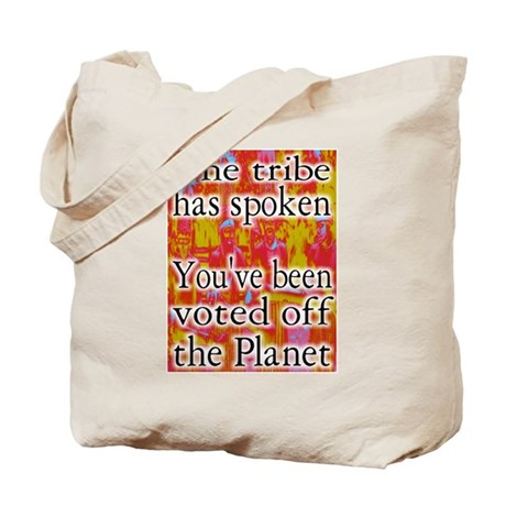 Tribe has Spoken Funny Survivor Tote Bag