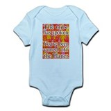Tribe has Spoken Funny Survivor Infant Bodysuit
