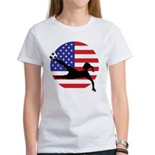 Unique Usa womens soccer Tee