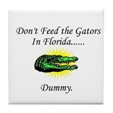 Gator Tile Coaster