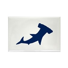 Hammerhead Sharks/Jaws Rectangle Magnet