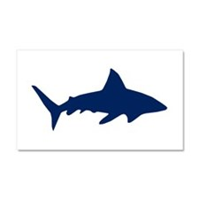 Sharks/Jaws Car Magnet 20 x 12