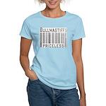 Bullmastiff Women's Pink T-Shirt
