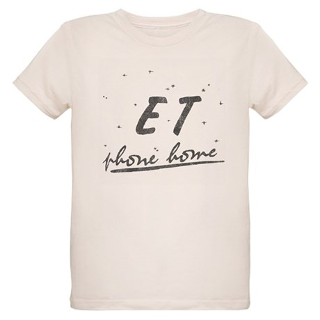ET Phone Home Organic Kids T-Shirt