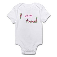 Butterfly & Flowers Zoe Infant Bodysuit
