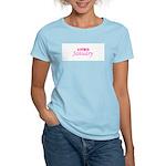 Due In Janury Women's Pink T-Shirt