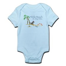 Pibble Beach Infant Bodysuit