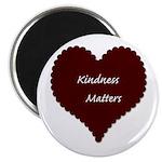 "Kindness Matters Heart 2.25"" Magnet (100 pack"