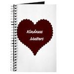 Kindness Matters Heart Journal