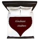Kindness Matters Heart King Duvet