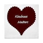 Kindness Matters Heart Queen Duvet