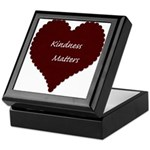 Kindness Matters Heart Keepsake Box