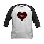 Kindness Matters Heart Kids Baseball Jersey