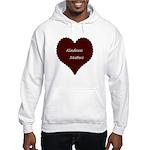 Kindness Matters Heart Hooded Sweatshirt