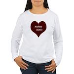 Kindness Matters Heart Women's Long Sleeve T-Shirt
