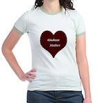 Kindness Matters Heart Jr. Ringer T-Shirt